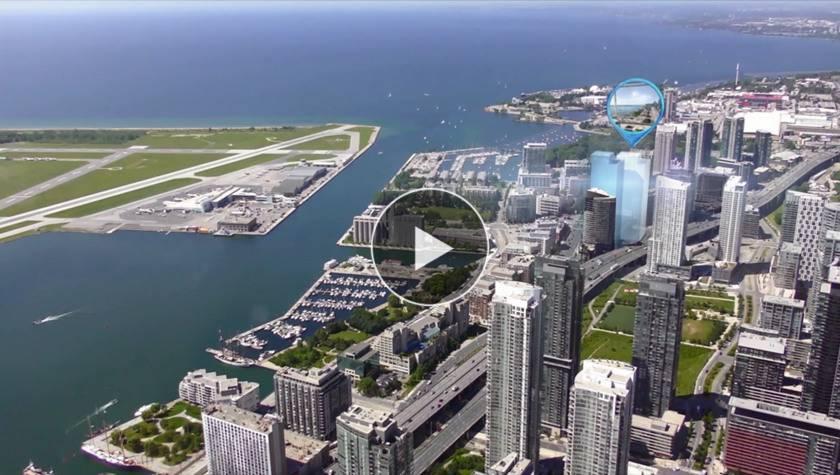 CanadaToronto-The Lakeshore luxury apartment building