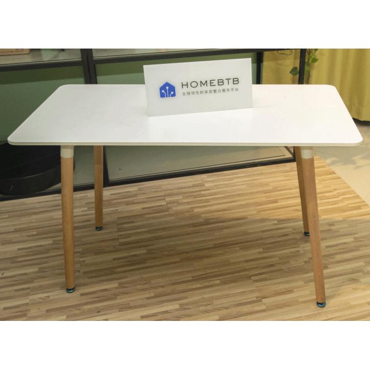 Creative simple solid wood plastic Table
