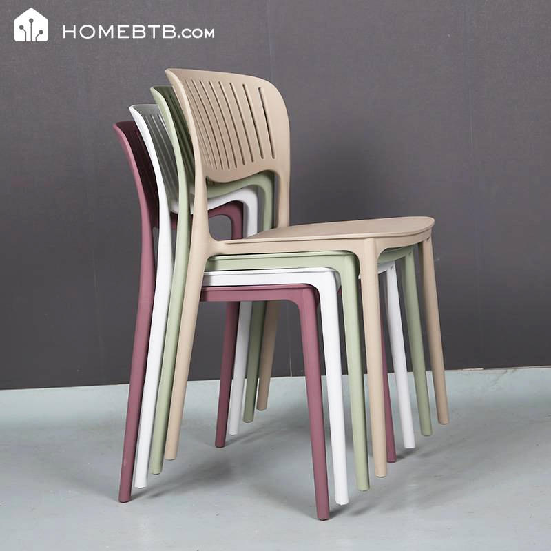 Simple Plastic Leisure Chair