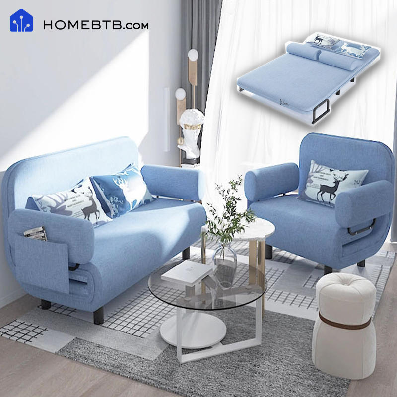 Nordic Simplicity Folding Bed Sofa SFFB004productInfoLeftImg