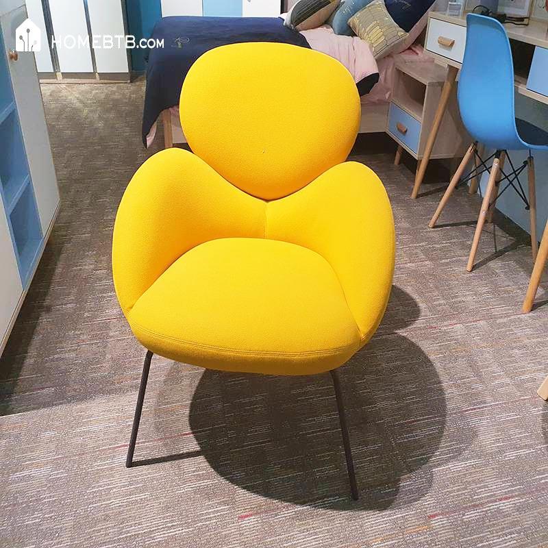 Yellow Simple Single Sofa ChairproductInfoLeftImg