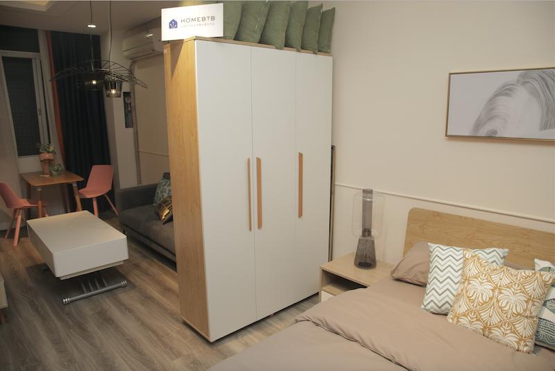3-door Wardrobe White WoodproductInfoLeftImg
