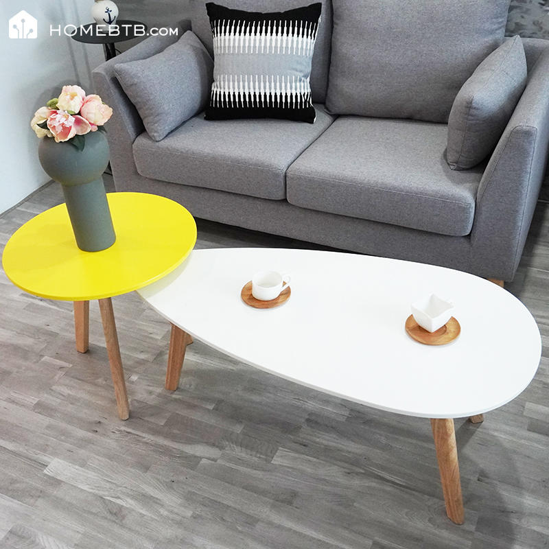 Fashion 2 in 1 Wooden Coffee TableproductInfoLeftImg