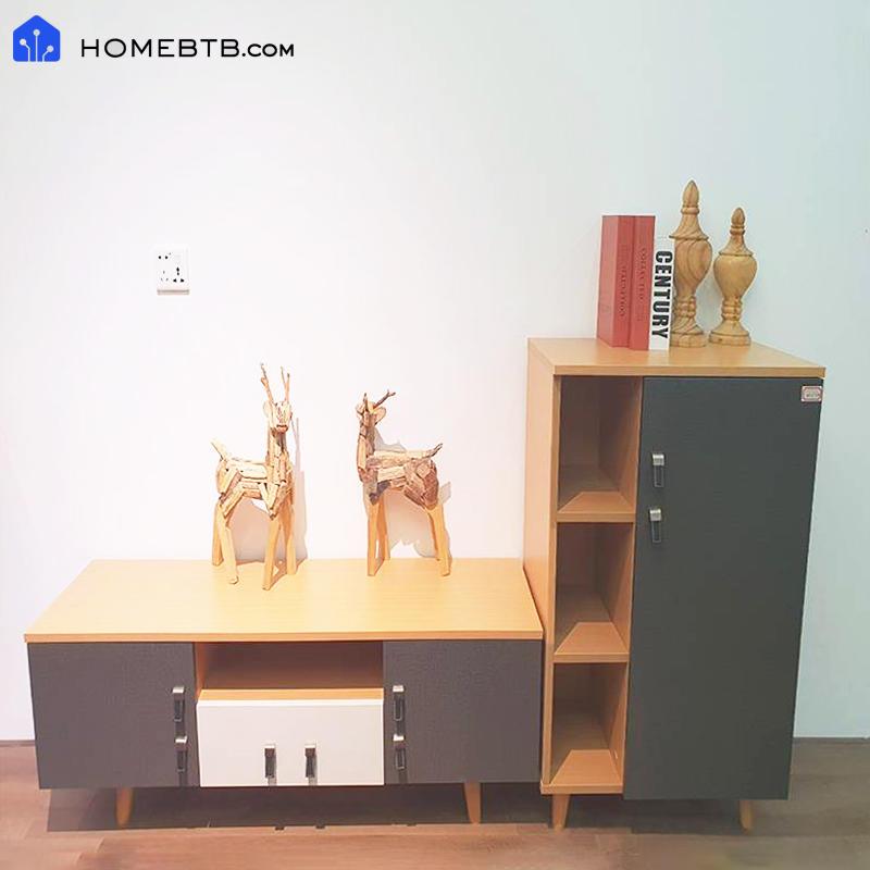 Modern Fashion Style TV Cabinet Combination