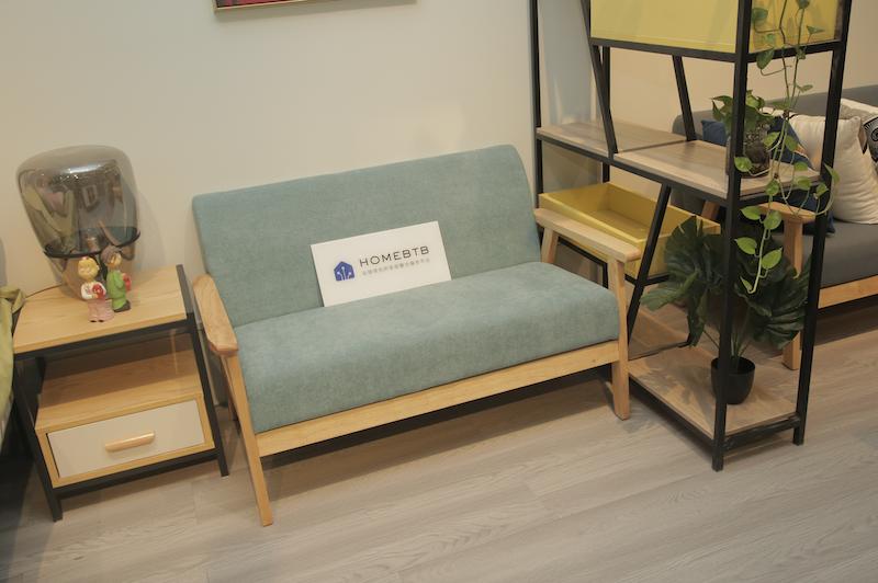 Simple Green Sofa
