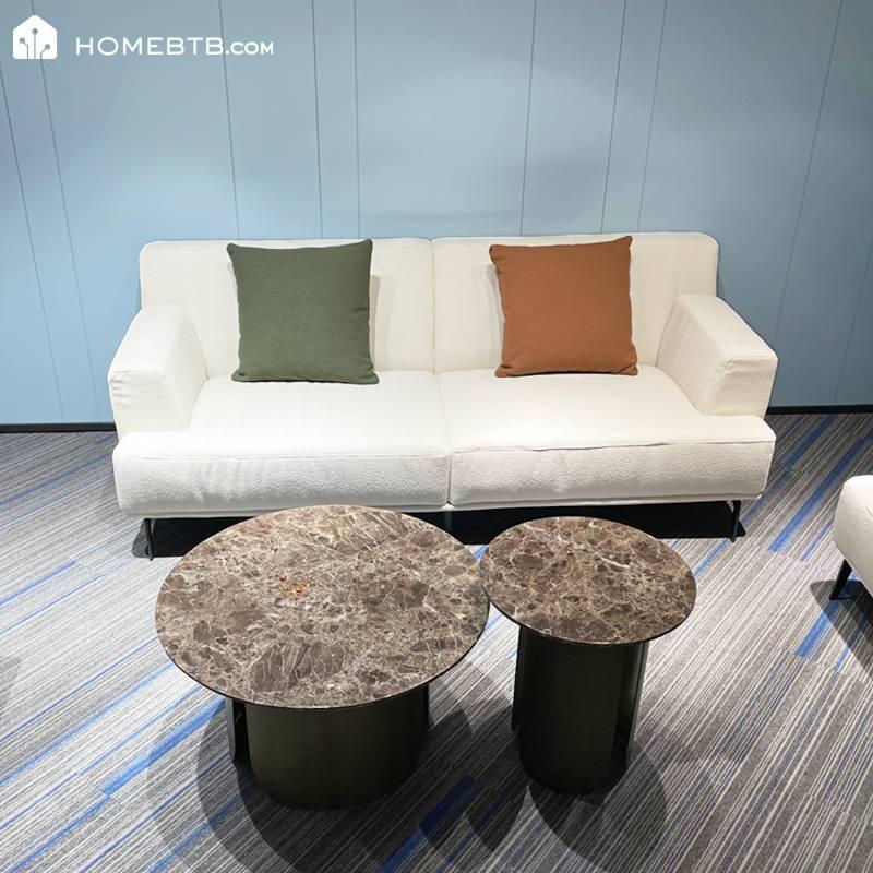 HomeJI Solid Wood Sponge Sofa