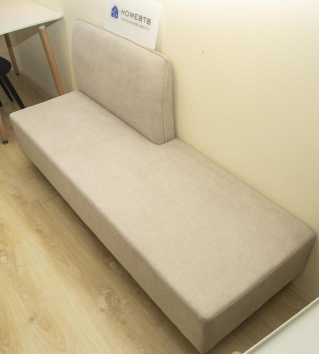 Cotton linen Lazy Sofa