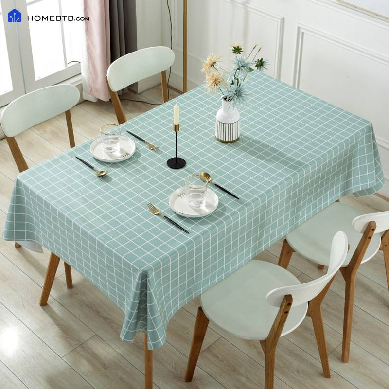 Water-proof Anti-scald PVC Tablecloth