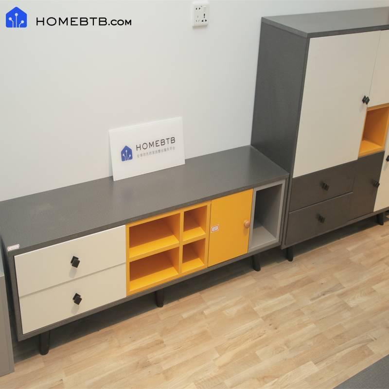 Black Modern TV Cabinet