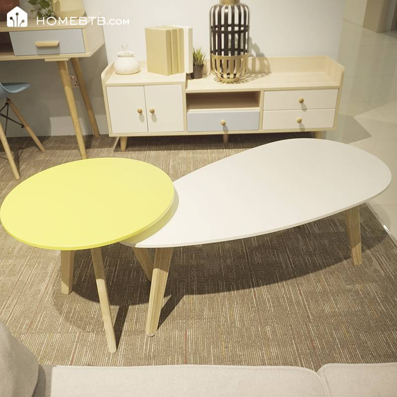 Fashion 2 in 1 Wooden Coffee Table