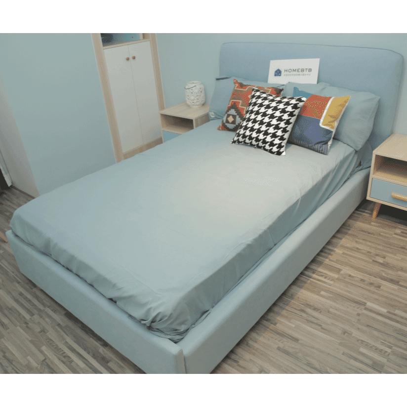 Fashion Soft Bed Light BlueproductInfoLeftImg