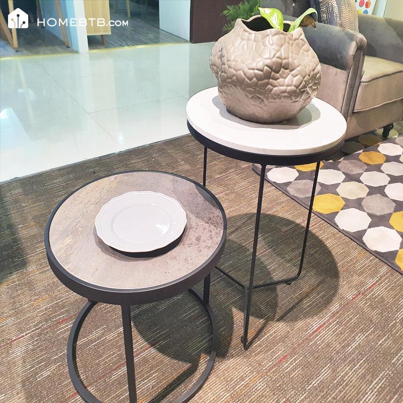 Nordic Minimalist Marble Surface Small Coffee TableproductInfoLeftImg