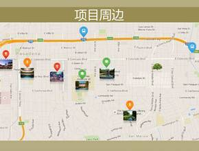 美国帕萨迪纳-Town & Country高级公寓住宅区