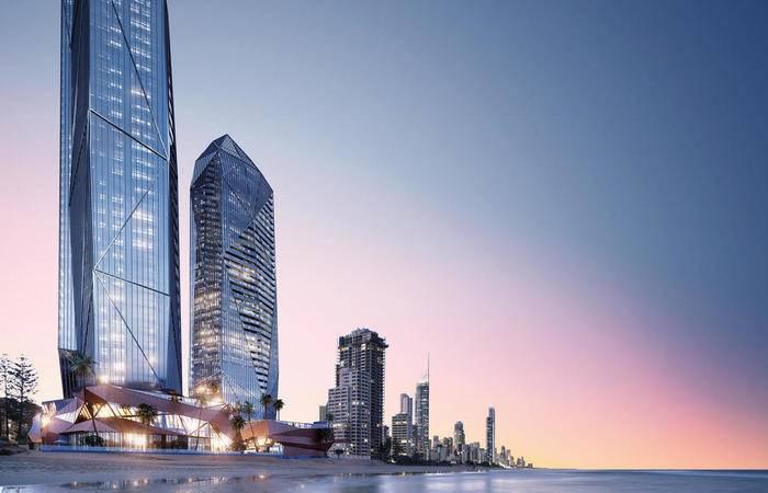 澳大利亚黄金海岸-南港区Jewel珠宝三塔豪华海景公寓
