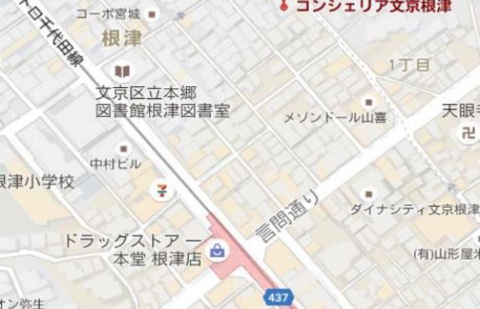 日本东京市-文京根津公寓