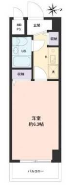 日本东京市-Top五反野第4公寓