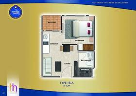 泰国芭提雅-阿卡迪亚欧陆风情公寓ABC