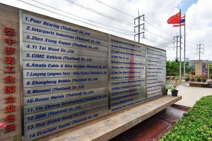 一带一路为中国企业投资泰国添动力