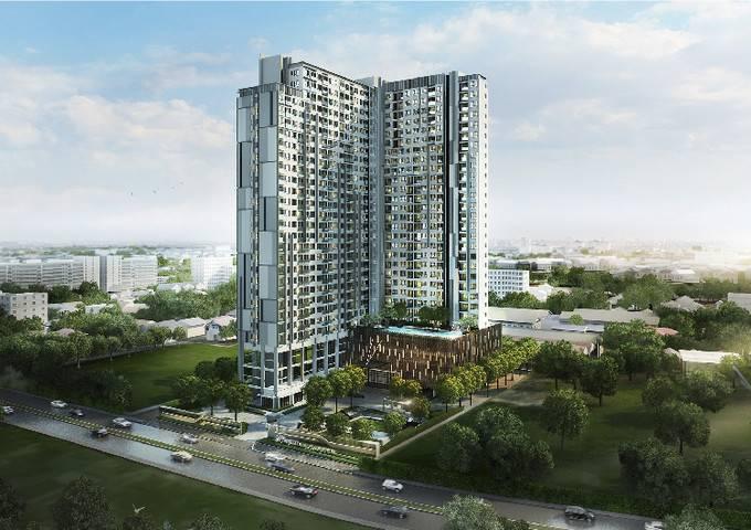 有路新盘首发|央企投资,曼谷轻轨站旁优质公寓,43万低总价,精装现房,即买即住