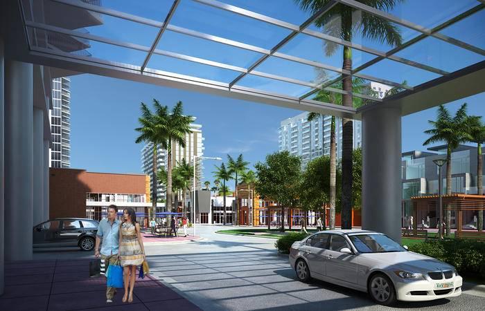 美国迈阿密-都瑞尔城市中心