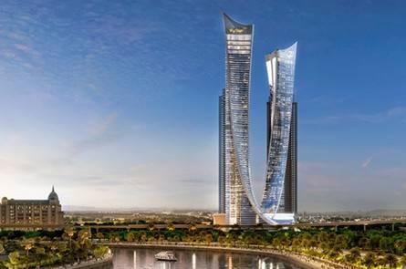 迪拜·AYKON CITY 迪拜达马克运河城