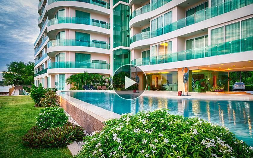 泰國芭提雅-Eden sea view apartment