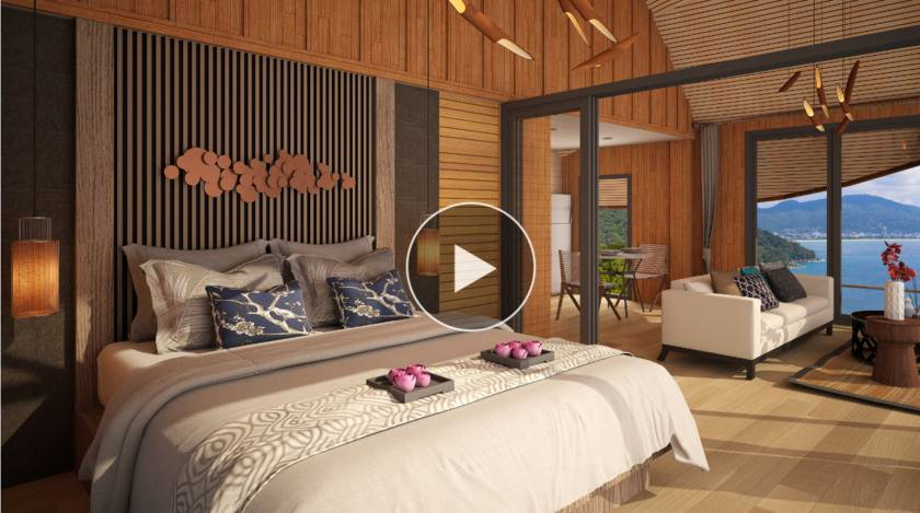 泰国普吉-Naka Bay海景小木屋别墅