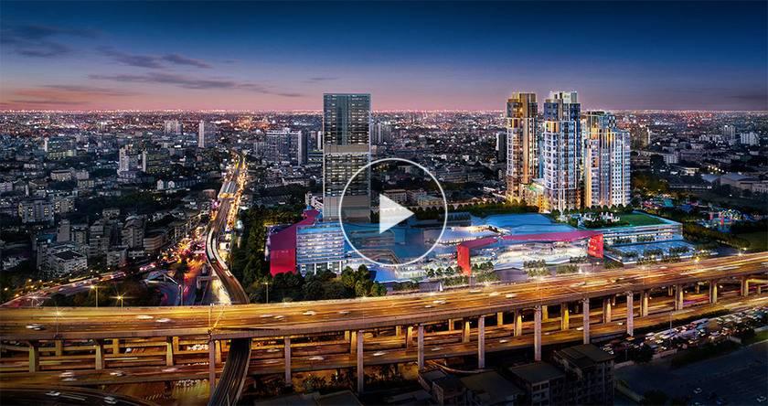 泰国曼谷-距东南亚最大购物中心零米 The Sky Sukhumvit