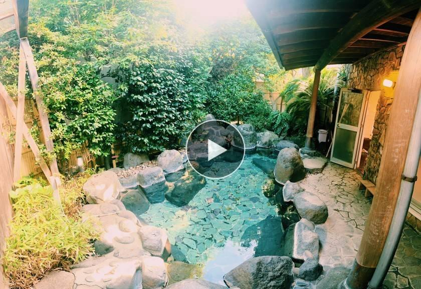 日本賀茂郡-`` Youdu '' Atagawa Onsen Seaview Resort