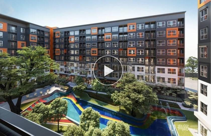 泰国曼谷-曼谷大学城学生公寓三期